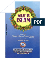 What is Islam by Maulana Muhammad Manzoor Nomani