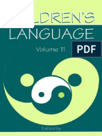 The Journal of Children Language