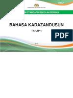 Dokumen Standard Bahasa Kadazandusun Tahap 1 (Tahun 1, 2 dan 3)