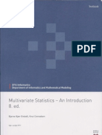 Multivariate Statistics - An Introduction 8th Edition