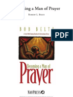 Becoming a Man of Prayer