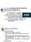 an introduction to materials science for engineers
