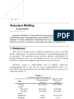 Autoclave Molding
