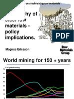 OECD Workshop on steelmaking raw materials