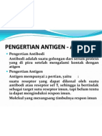 Pengertian Antigen - Antibodi