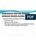 Hubungan Faktor Genetik Dengan Pasien Alergi
