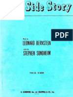 Bernstein - West Side Story (Complete Vocal Score)