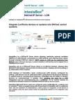 IntesisBox BACnet IP Server LON Datasheet Eng
