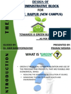 Dissertation report green marketing