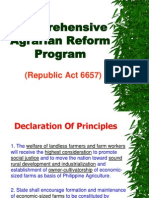 comprehensive agrarian reform program research paper The ra 6657 or the comprehensive agrarian reform law (carl) of 1988 during the presidency of late president corazon aquino, this is the basis of carp of the comprehensive agrarian reform program and implemented that time, so what is this carp.