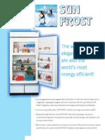 Sunfrost Refrigerators