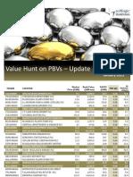 Value Hunt on PBVs - 08.01.2013-01