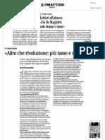Gianni Lettieri - solo slogan dal sindaco