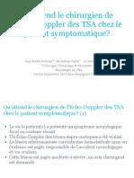 ED TSA pour le chirurgien vasculaire
