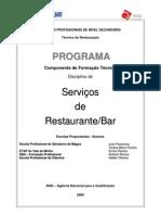 Serviços Restaurante-Bar