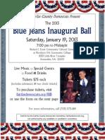 Blue Jeans Inaugural Ball (2013 Inauguration)
