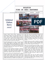 Buletin PIBG SK Seri Hartamas - Jan 2012