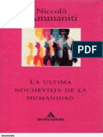 Niccolo Ammaniti - la ultima nochevieja de la humanidad