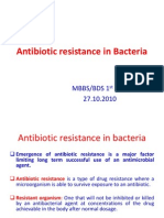 Antibiotic Resistance in Bacteria 1