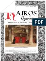 Kairos Quarterly Volume 1