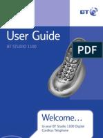 Studio 1000 Telephone Manual