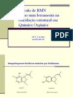 Cálculo de RMN como uma ferramenta na elucidação