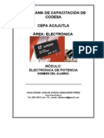Electrónica de Potencia MANUAL 1