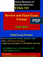 Review Final Exam Fall 12