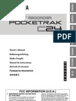 PocketrakC24 en Om b0
