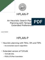 Hplan-P planning system