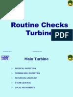 Turbine Walkdown Checks PMI