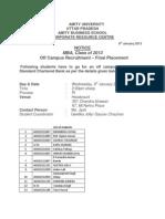 5803coff Campus Notice