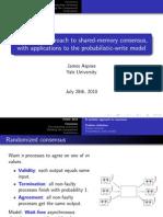 Podc2010-Talk Delphi Creating Consensus