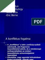 Csepeli György Eric Berne Buda Béla - Konfliktuskezelés