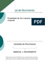 Cantidad de Movimiento 1