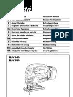 Makita BJV180 Manual