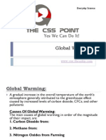 Global Warming - Class Lecture