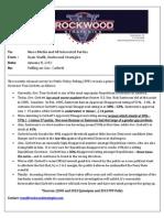 Rockwood Strategies Polling Memo on PA Gov. Tom Corbett.