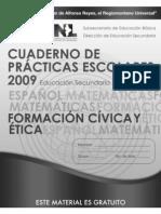 Cuaderno de trabajo, Formacion Civica y etica