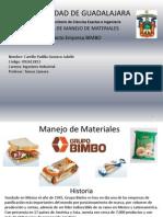 Manejo de Materiales Grupo BIMBO