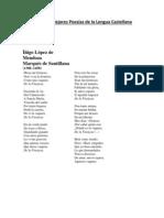 Las Cinco Mejores Poesias