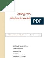 2. Calidad Total y Modelos de Calidad