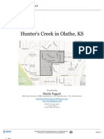 Hunter's Creek Subdivision Neighborhood and Real Estate Stats - The Hunter's Creek Subdivision is located in Western Olathe, Kansas