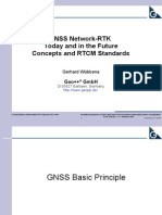GNSS Network-RTK Today and in the Future Concepts and RTCM Standards