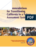Recommendations for Transitioning California to a Future Assessment System