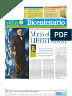 Diario del Bicentenario 1850