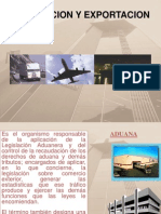 Regimen de Importacion y Exportacion