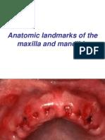 Anatomic Landmarks