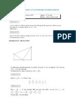 Test de Preparation Aux Olympiades Mathematiques