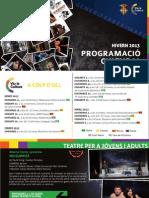 Programació Cultural Alzira - Hivern 2013